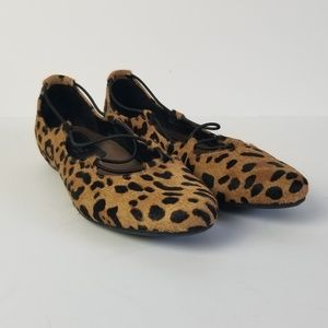 Eathies by Earth Essen Leopard ballet flat, 8.5